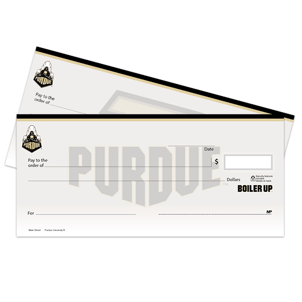 Purdue University Checks